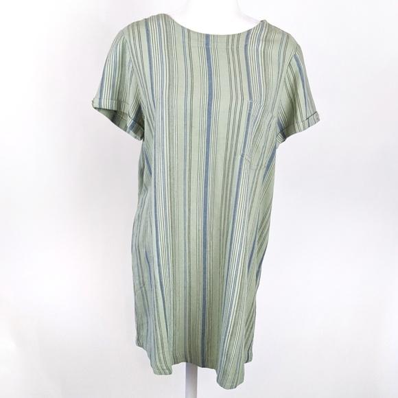 Anthropologie Dresses & Skirts - Anthropologie Cloth & Stone Linen Shirt Dress M